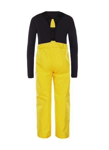 The North Face Snow Suspender Plus Çocuk Pantolon Sarı Sarı